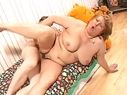 Big titted granny slut loving it raw and rough