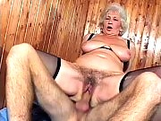 Busty GILF having her hairy pussy shafted