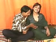 Pretty Rashmi is being caress by a horny indian stud