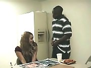 Horny officemates fuck and get caught by their boss