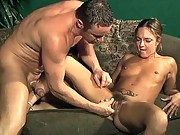 Hairy Pussy Cock Crammed